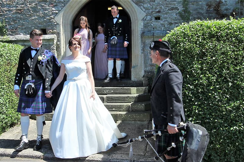 Wedding Bagpipes Llantrisant