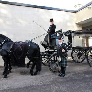 Funeral, Bagpiping, Thorhill-Crematorium,