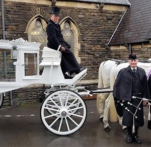 Funeral, Bagpiping, Swansea