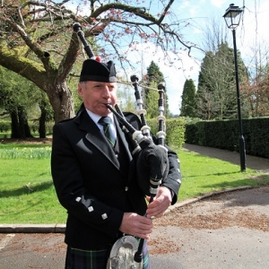 Funeral, Bagpipes, Cardiff,