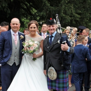 Wedding, Bagpipes, Blackwood