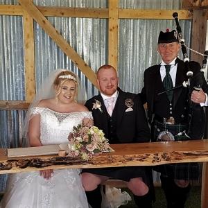 Wedding, Bagpipes, Rosemarket-Pembrokeshire