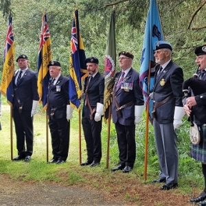 DDay75, Remembrance-Service, HayonWye,