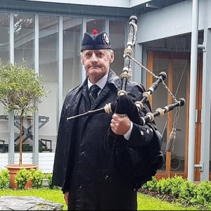Funeral, Bagpiping, Llwydcoed-Aberdare,