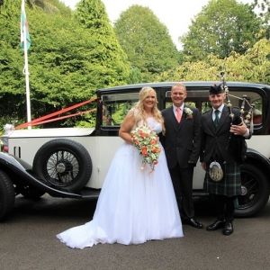Wedding, Bagpipes, EbbwVale-Usk,