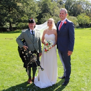 Bryngarw-House, Wedding, Bagpipes,