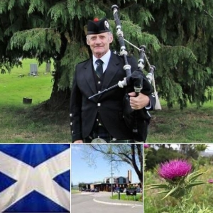 Funeral-Bagpipes, South-Bristol-Crematorium,