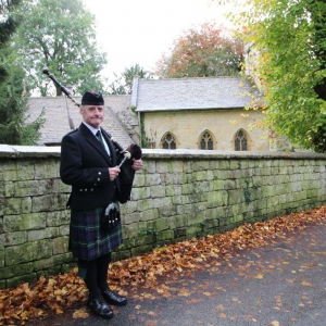 Funeral, Bagpipes, Randwick-Stroud,