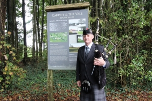 Funeral-Bagpiping, StNicholas, Natural Burial Ground,