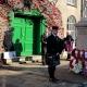 Cowbridge-Town, Remembrance, Bagpipes,