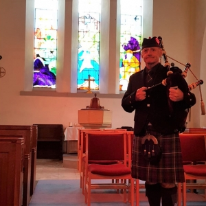 Funeral-Bagpipes, Neyland-Pembrokeshire,