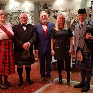 Burns-supper, Porthcawl-Lions, HI-Tide,