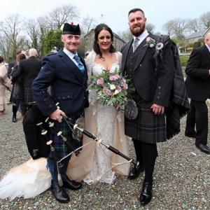 NYE2019-Wedding-Bagpipes, Gellifawr-Fishgaurd,