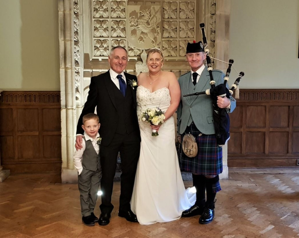 Miksin-Manor, Wedding-Bagpipes, Ian-Clair,