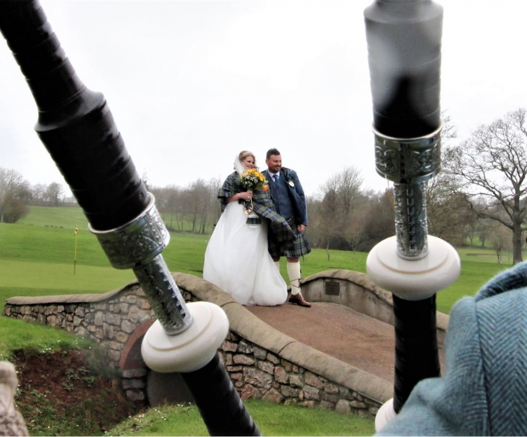 Trefloyne-Tenby, Wedding-Bagpipes,