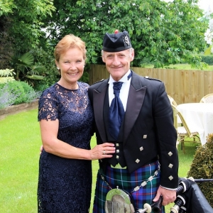Bagpiper-Wales, 9th, Business-Anniversary,