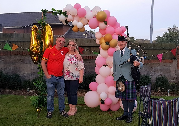 40th-Birthday, Bagpiping-Radyr,
