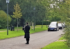 Funeral-Bagpipes, Caerphilly-Thornhill,