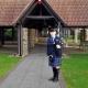 Funeral-Bagiping, Westerleigh-Crematorium-Bristol,