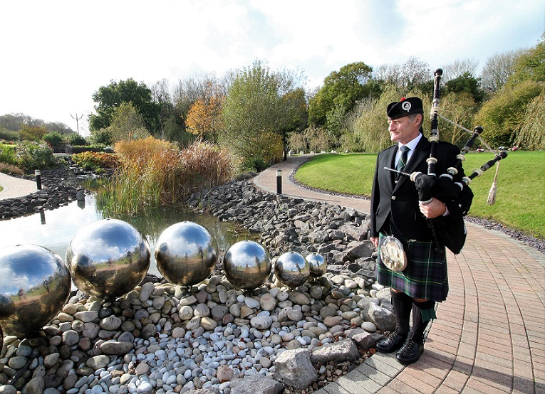 Bagpiping-Funeral, Barry-Crematorium,