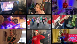 Bagpipes-Charity-Video, Covered-Up-Band,