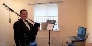 Corporate Bagpipes, Burns-Celebration,