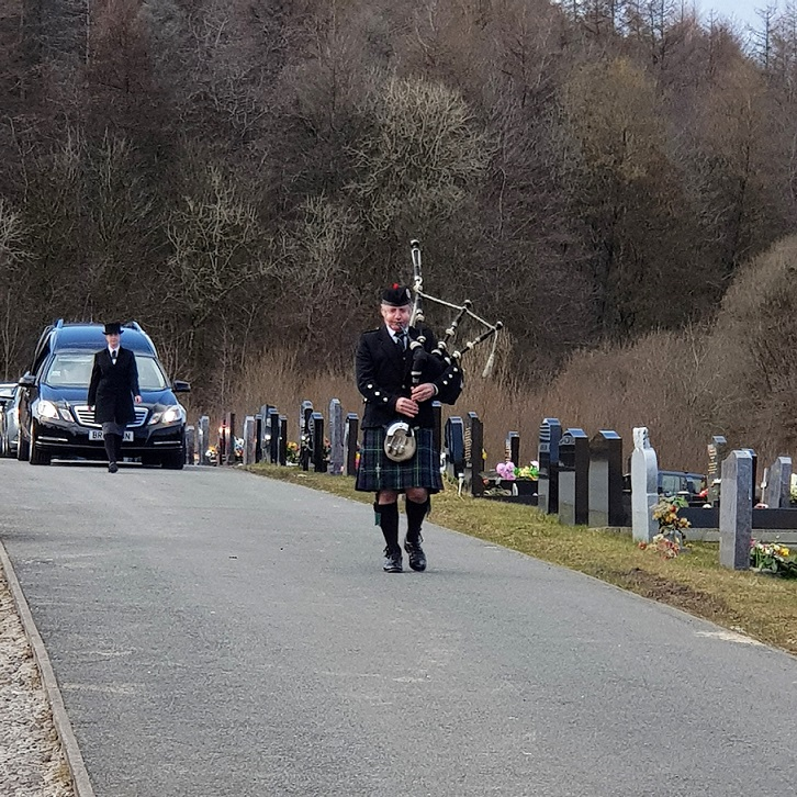 Funeral-Bagpipes, Ebbw-Vale,