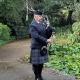 Funeral-Bagpiping, Wenallt-Thornhill-Crematorium,