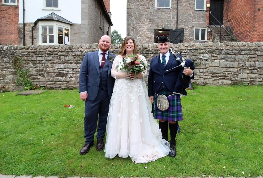 Wedding-Bagpipes-Lyde-Court-Lisa-Lauren-David,